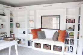 Image Ikea Billy Billy Bookcase Hacks Share How You Can Transform Your Home With Customized Storage That Fits Your Space Style And Budget Billy Builtin Bench Seat Pinterest How To Use Ikea Billy Bookcases In Unusual Ways In 2019 Ikea Hacks