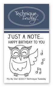 music note stamp music owl stamp set clear stamps technique tuesday