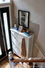 shoe storage furniture for entryway. shoe storage for a split entry furniture piece is from ikea hemnes cabinet sourceu003e by sweet parrish place entryway
