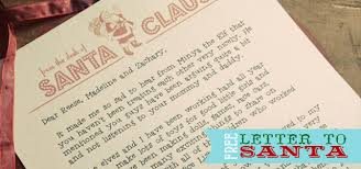 Free Letter From Santa Word Template Free Santa Letterhead Three Little Monkeys Studio