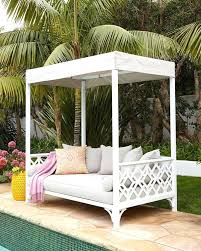 outdoor bed with canopy image of outdoor daybed with canopy photo outdoor bed canopy diy