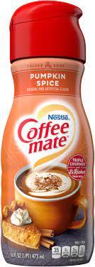 Pumpkin pie creamer is low carb and keto friendly. Pumpkin Spice Coffee Creamer Liquid Coffee Mate