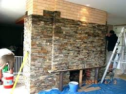 refacing a brick fireplace with stone veneer exterior brick refacing exterior brick refacing exterior stone panels refacing a brick fireplace with stone