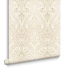 gold bedroom wallpaper uk. glamour damask cream and gold wallpaper bedroom uk e