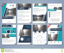 Flyer Template For Pages Creative Brochure Template Or Flyer Layout Stock