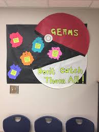cork board ideas for office. pokmon themed school nurse bulletin board more cork ideas for office n