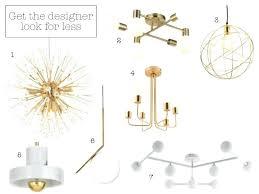 light multi arm cer brushed gold effect 6 lamp pendant ceiling light 2 modern satin