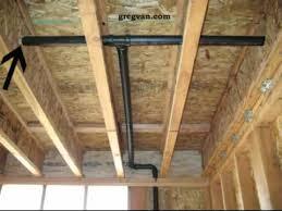Plumbing And Floor Framing Drilling Holes In Truss Joist