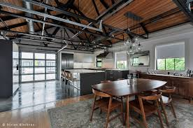 polished concrete floor loft. We Also Kept The Concrete To Just Utilitarian Kitchen Space, And Opted For Wooden Floors Oriental-style Rug In Adjacent Dining Area. Polished Floor Loft T