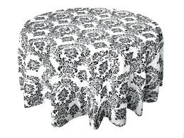 view full size 120 inch round white tablecloth 70 x black flocking font b damask table 120 inch round white tablecloth