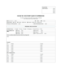 Medical-History-Question-6467 Medical History Forms Word, Pdf ...