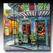 new orleans painting new orleans art french quarter painting b sasik