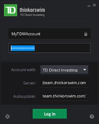User Companion For Thinkorswim