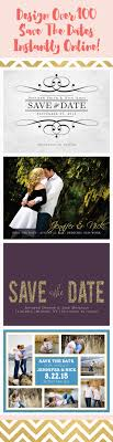 Design Save The Date Cards Online Free Make Each Design Your Own With Over 160 Different Color
