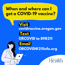 Oregonians 80 and older will soon be eligible for vaccines. Covid 19 Vaccine