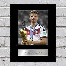 Thomas Müller Signed Photo Display Germany: Amazon.de: Küche & Haushalt