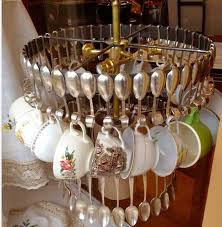 unusual lighting ideas. Creative And Unusual Lighting Fixtures Made With Flatware, Kitchen Utensils, Mugs Tea Cups Are An Innovative Alternative To Lacking Interest Chandeliers Ideas G