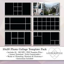 4 Storyboard Collage Template Free Photo Templates Elements ...