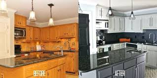 painting oak kitchen cabinets white before and after kitchen oak cabinets painting oak cabinets white painting