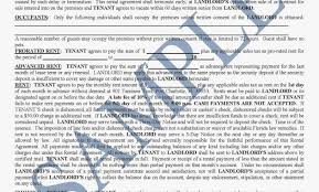 Free California Residential Lease Agreement | Pdf | Word ...