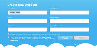 Create Skype Account How To Use Skype Getting Started