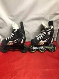 Details About Reebok Fit Lite 3k In Line Hockey Skates Size Child 8j Roller Blades Euc