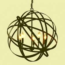 large metal orb chandelier inspiring large orb chandelier globe chandelier orb black metal chandeliers with black candle ideas