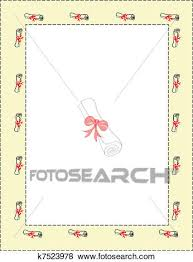 Clip Art Of Letter Of Graduation K7523978 Search Clipart