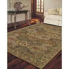 multi color print accent rug 3 6 x5 6