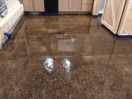 acid staining our concrete floors an expensive look at little cost polished cement floors in homes