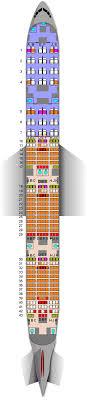 Qatar Airways B777 300er 42j 316y Seat Map
