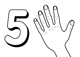 Small Picture Free Printable Number Coloring Pages For Kids