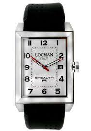locman stealth r men s quartz 240bk2bk watch by locman products locman stealth r white dial black rubber men s watch