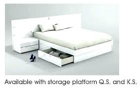 white king storage bed. Perfect King White King Storage Bed U Platform   For White King Storage Bed