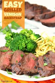easy grilled venison backstrap the best way to prepare venison backstrap delicious and flavorful