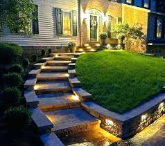 outdoor stairs lighting. Outdoor Step Lighting Stair Lights  Steps Stairs Led .