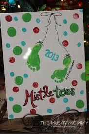 Simple Salt Dough Mitten Ornament Keepsake  Salt Dough Mittens Infant Christmas Crafts
