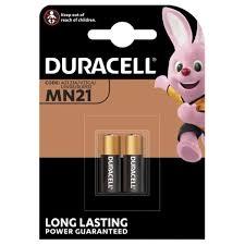 <b>Duracell MN21</b>/23 Batteries 12V 12 Volt Alkaline 2Pack Twin Pack