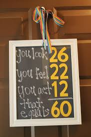 birthday math sign for 60th birthday you could do with any number