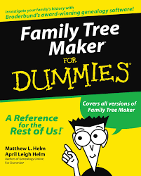 make a family tree online family tree maker for dummies amazon ca matthew l helm april