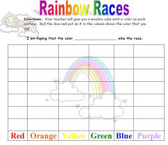 colors of the rainbow worksheet. colors of the rainbow worksheet l