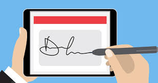 How To Digitally Sign A Word Document How To Create An Electronic Signature And Add It To Word Pdf And
