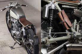 paul s 1972 honda cb450 k5 cafe racer was developed in line with their personal brief of clean lines and a minimalist finish the bike has been downsized