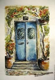 open door painting. Watercolour Painting Is An OPEN DOOR. Pictures \u0026 Decor Of TanyaSeptember. Open Door O