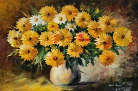 painting flowers vase bouquet wallpaper 2813x1869 148755