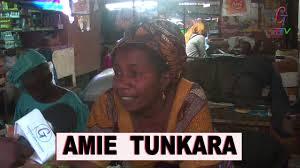 AMIE TUNKARA SPEAKS AGAINST THE GUTTERS IN BANJUL - YouTube