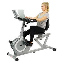 sunny health fitness rebent desk exercise bike sunny health fitness