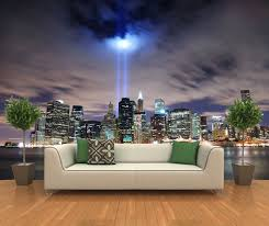 New York Wallpaper For Bedrooms Peel And Stick Photo Wall Mural Decor Wallpapers New York Skyline