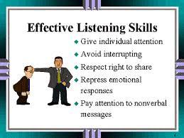 essays listening skills