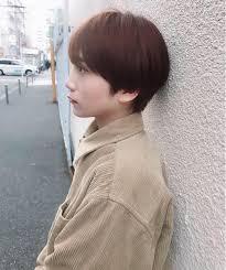 オレンジカラー 女性らしいベリーショート As Hair所属砂走真希